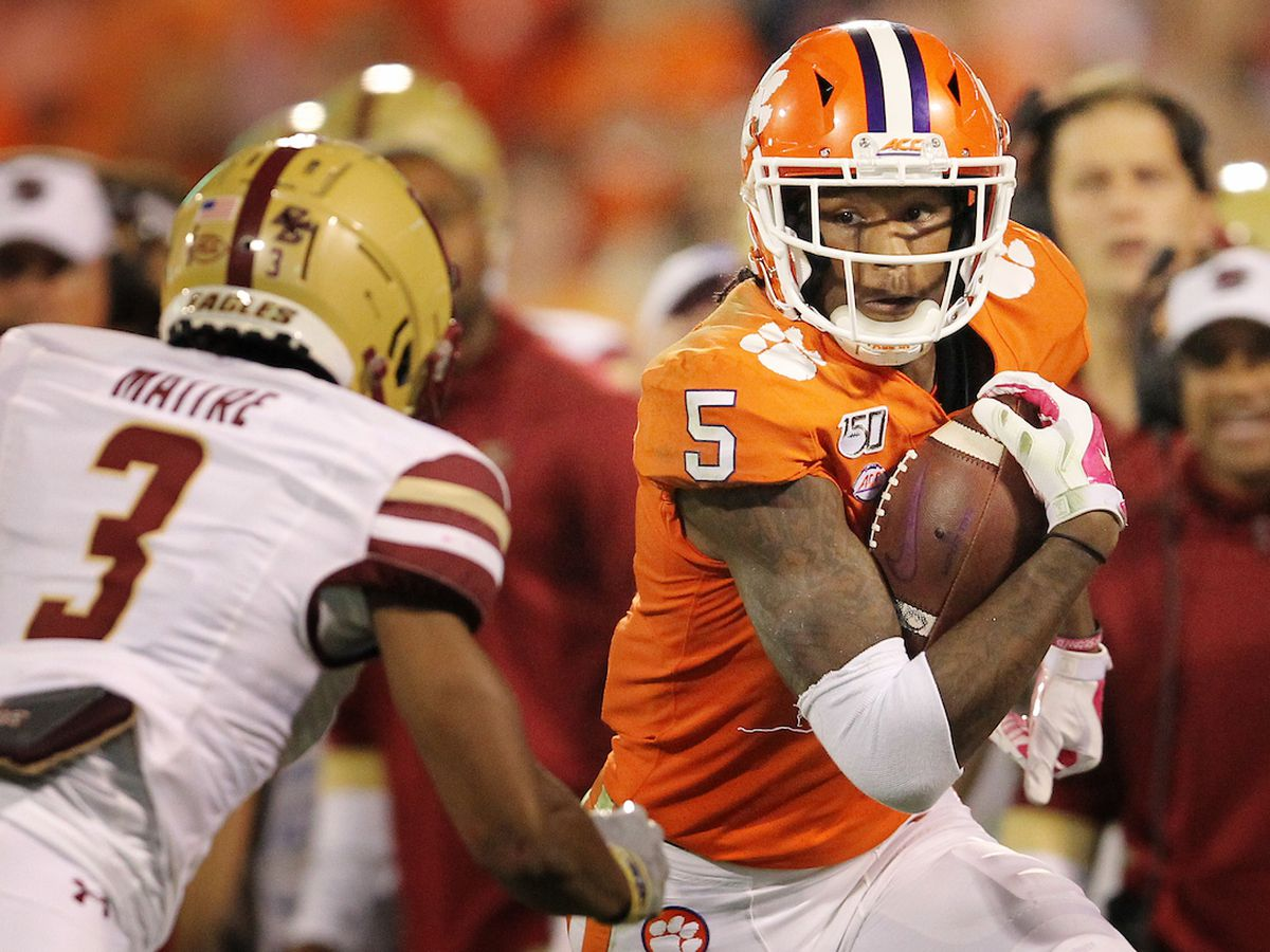 Clemson's Higgins picked in second round of 2020 NFL Draft by Bengals