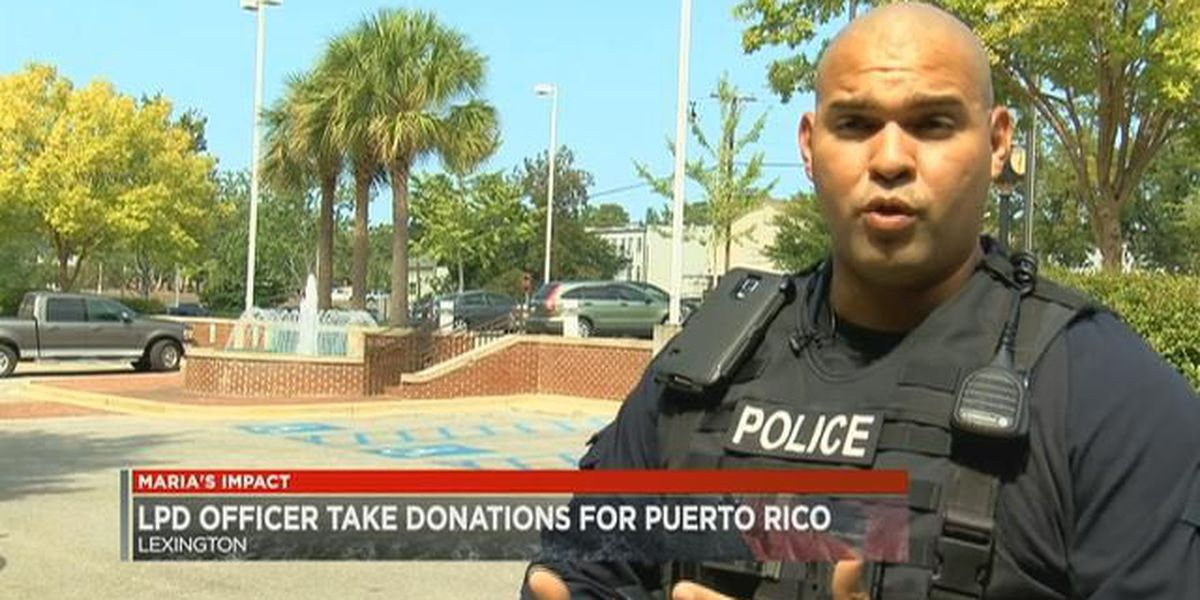 2 Midlands law enforcement officers say reaching family in Puerto Rico is difficult