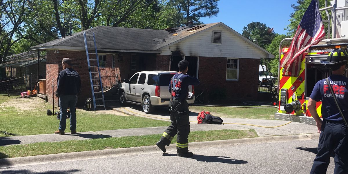 Cooking-related house fire displaces 5 people, officials say
