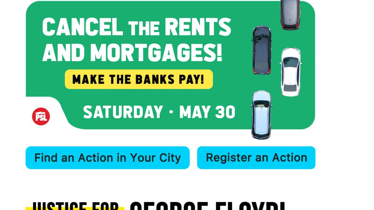 Cancel the Rents, Mortgages: Midlands taking part in nationwide car protests, also supporting movement against police brutality