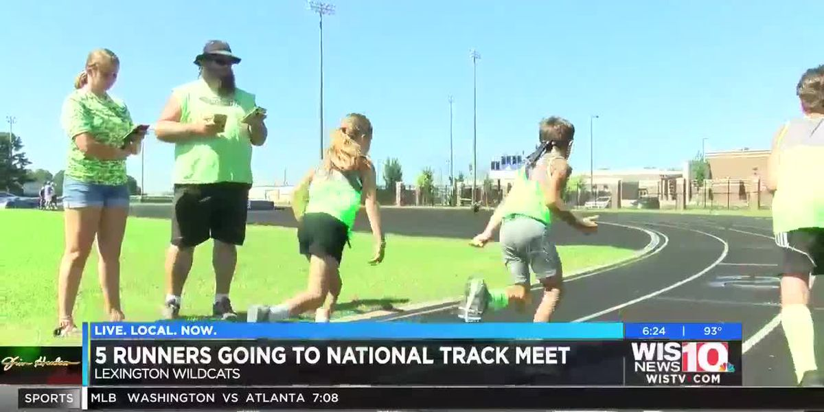 Five Lexington youth runners to compete at national track and field meet in California