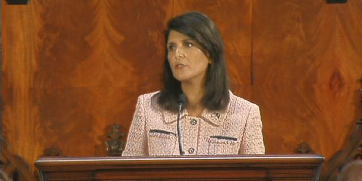 My Take: Governor Nikki Haley's State of the State address