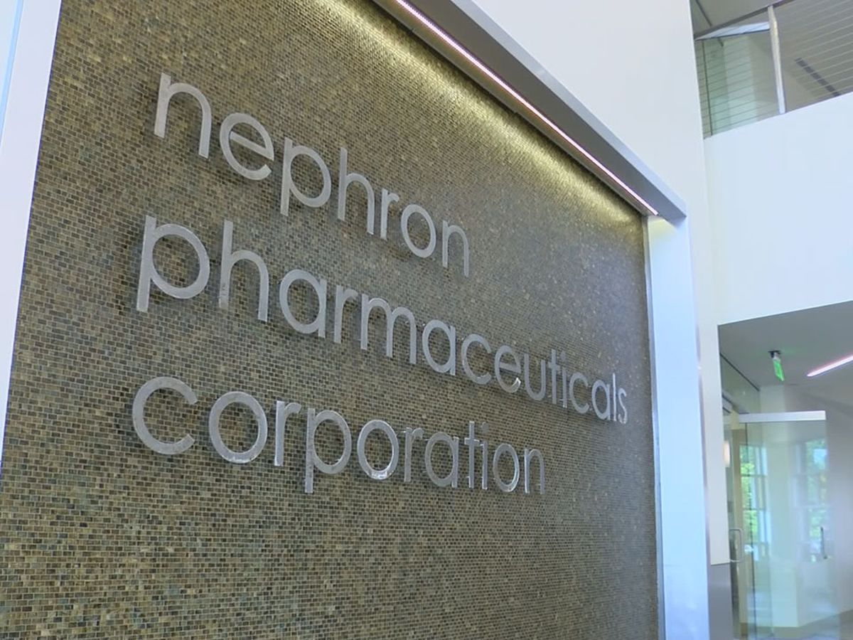 Employee at Nephron Pharmaceuticals tests positive for coronavirus