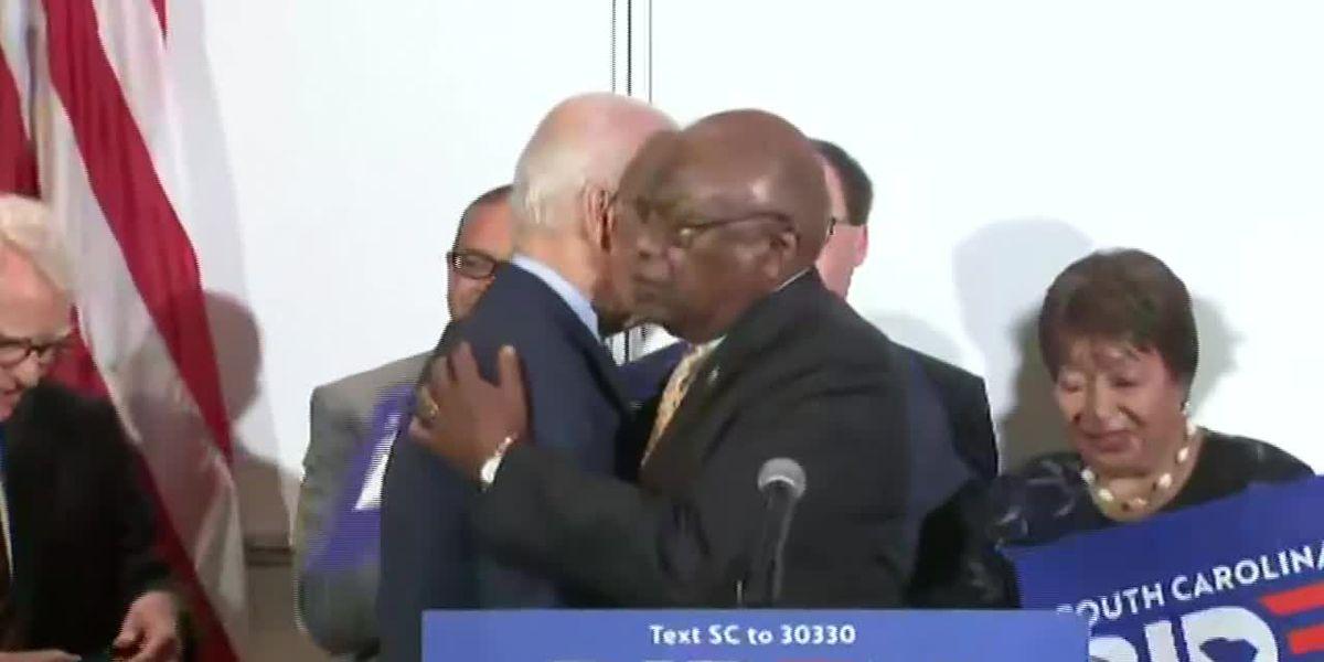 Congressman Jim Clyburn endorses Joe Biden as Democratic nominee for president
