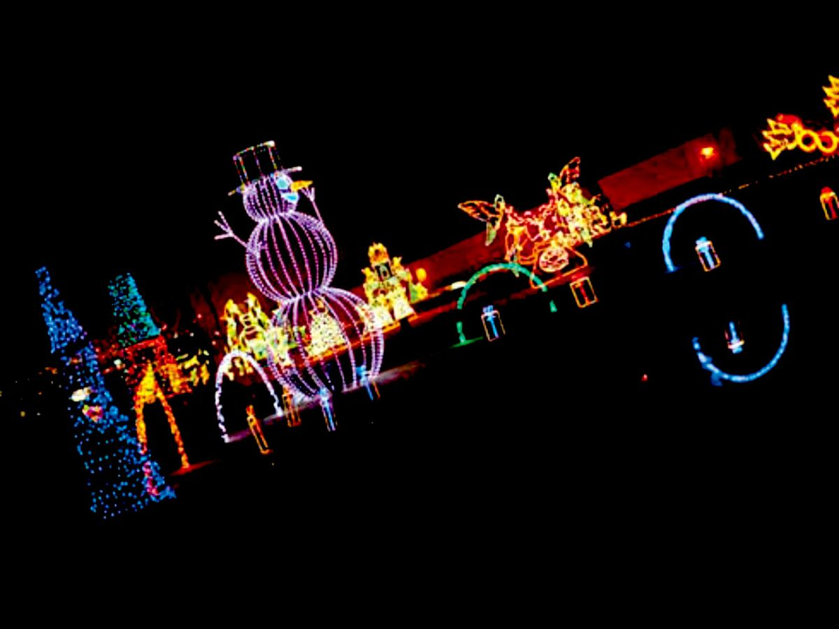 New light show at SC State Fairgrounds to celebrate the holiday season