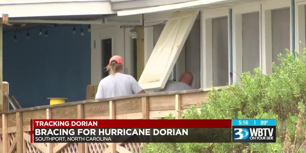 Conditions deteriorating as Dorian makes it way to the Carolinas, flooding a major concern