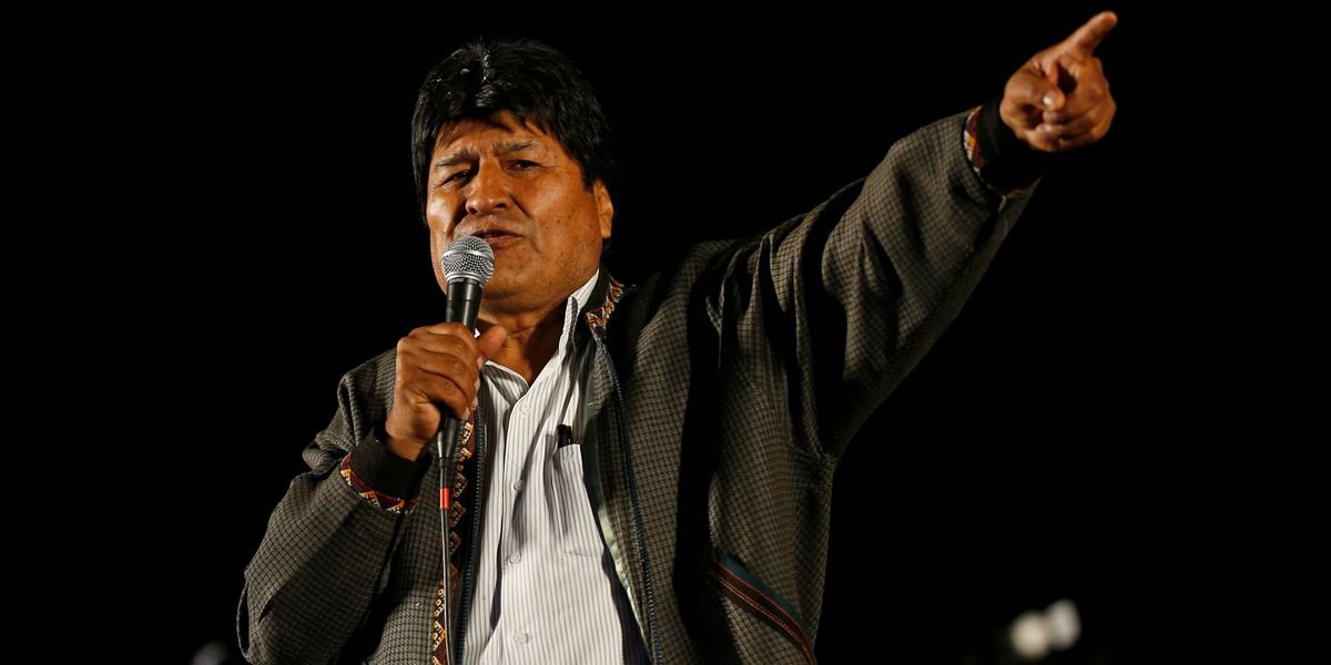 Bolivia's president resigns amid election-fraud allegations