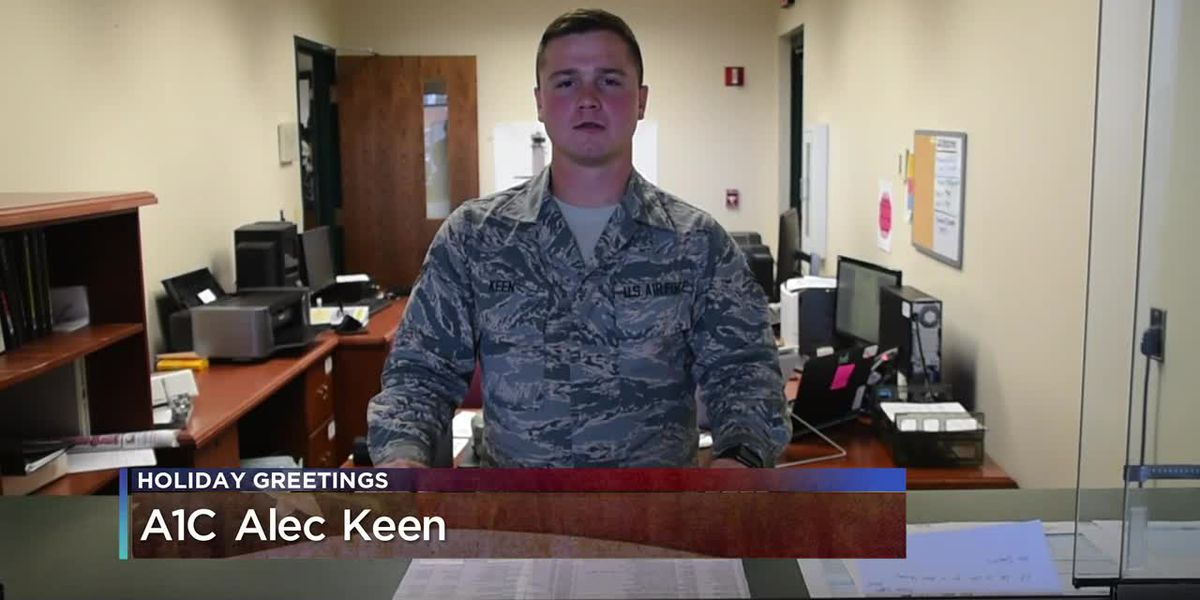 Military Greetings - A1C Alec Keen