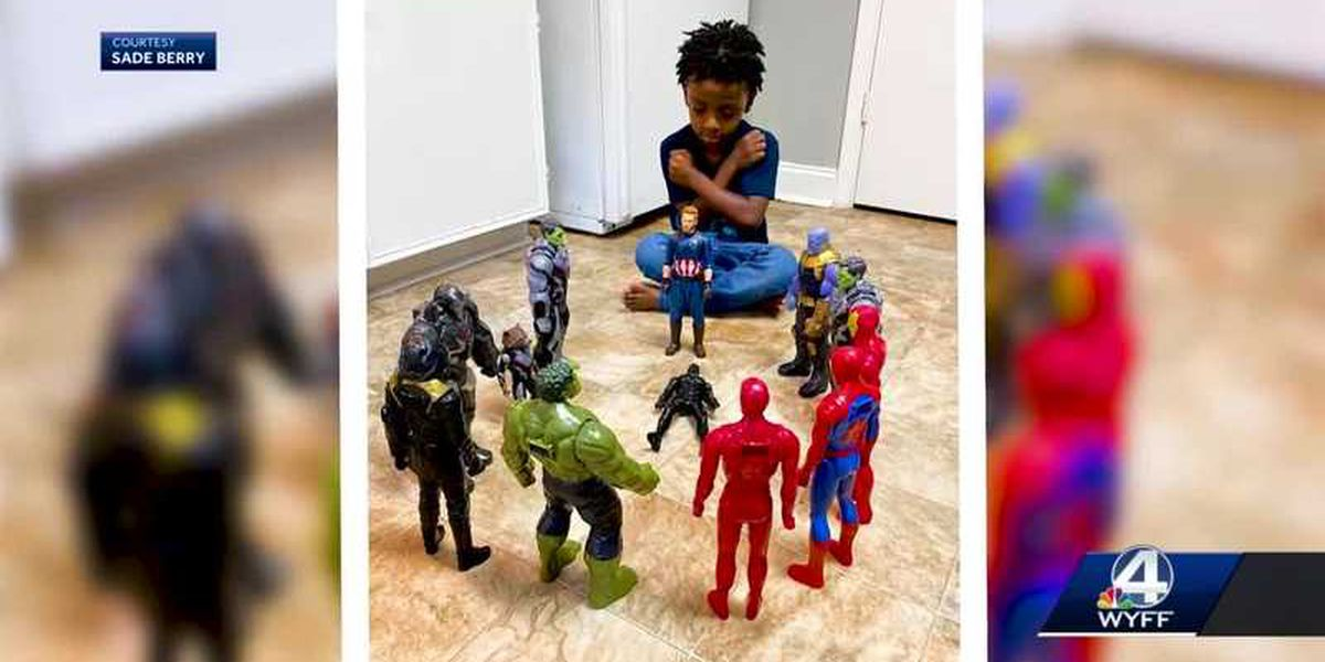 'Wakanda Forever': S.C. boy honors memory of Chadwick Boseman in viral photo