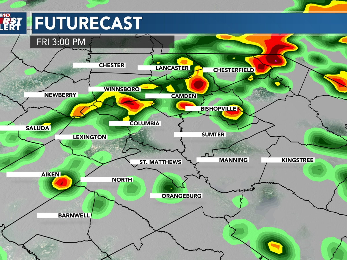 FIRST ALERT: Alert Day Friday for heavy rain & strong storms, some of that rain will be from Beta