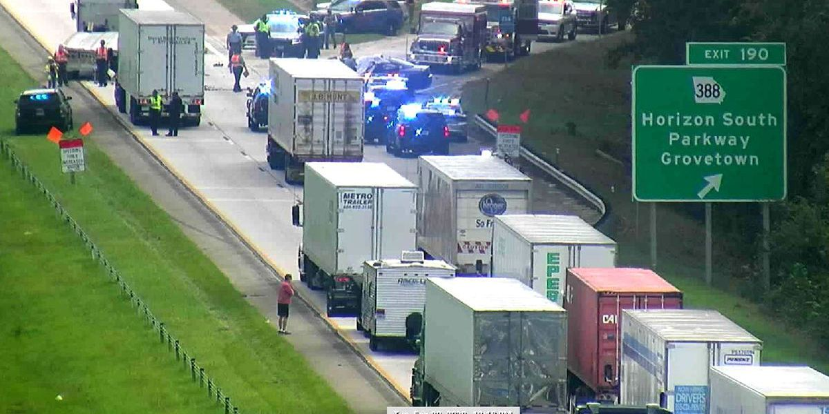 I-20 crash near SC-GA border kills 2 Georgia law enforcement officers