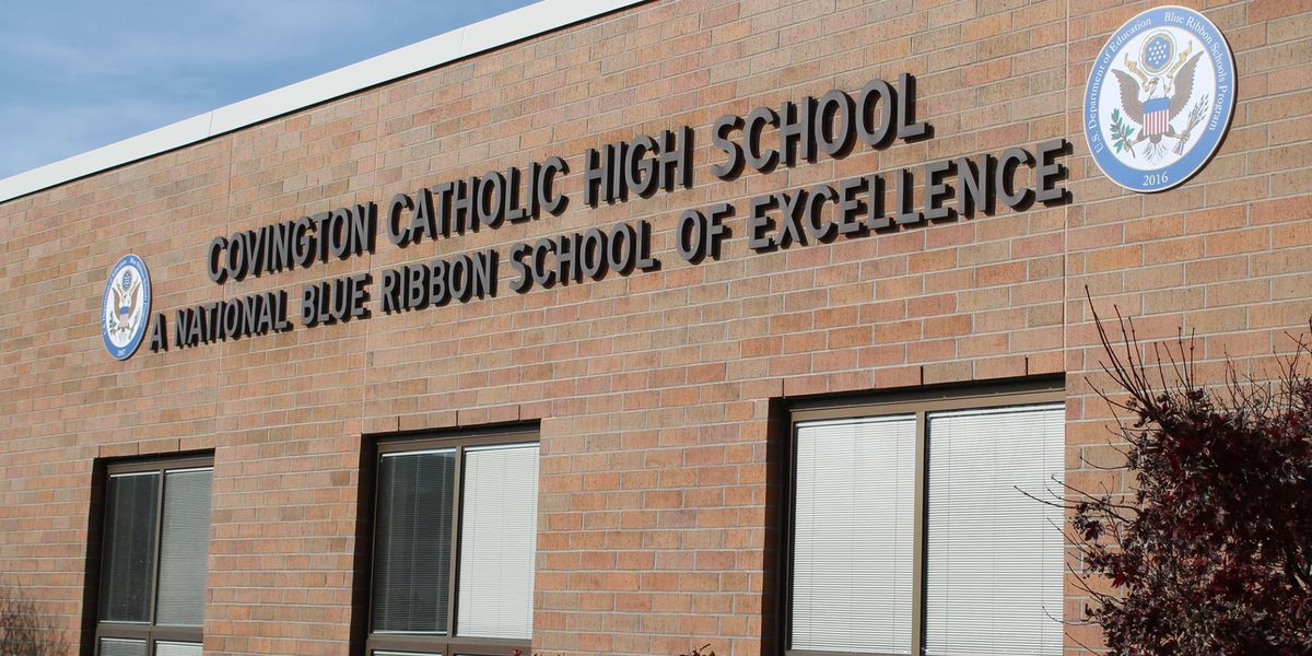 Covington Catholic High School is about to reopen