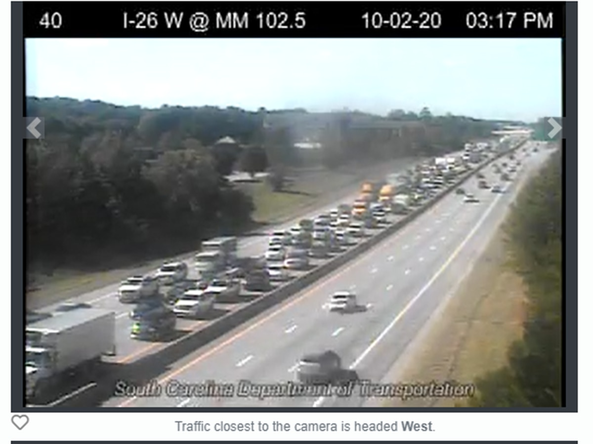 Two crashes on I-26 East now clear, traffic back to normal