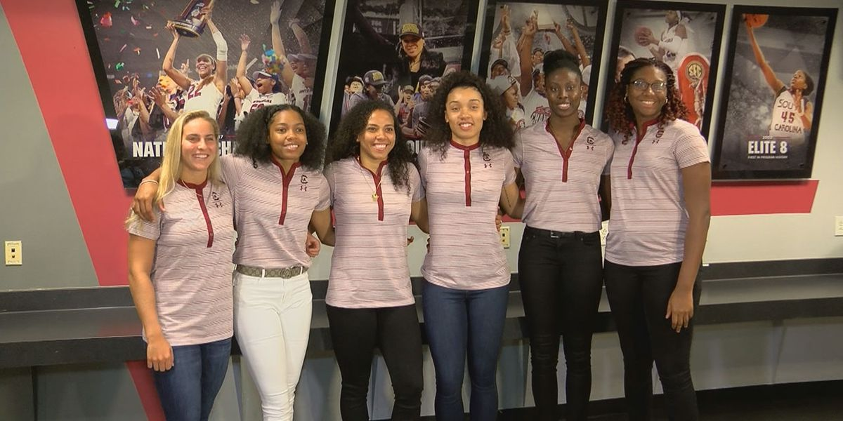 Newcomers for South Carolina women's hoops get adjusted to life as a Gamecock
