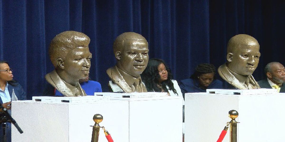 52nd commemoration of Orangeburg Massacre: Newly bronzed sculptures of victims unveiled