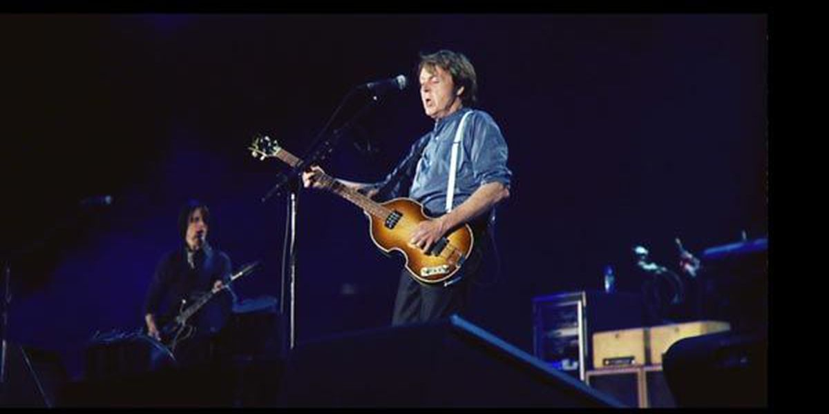 Paul McCartney is coming to Colonial Life Arena