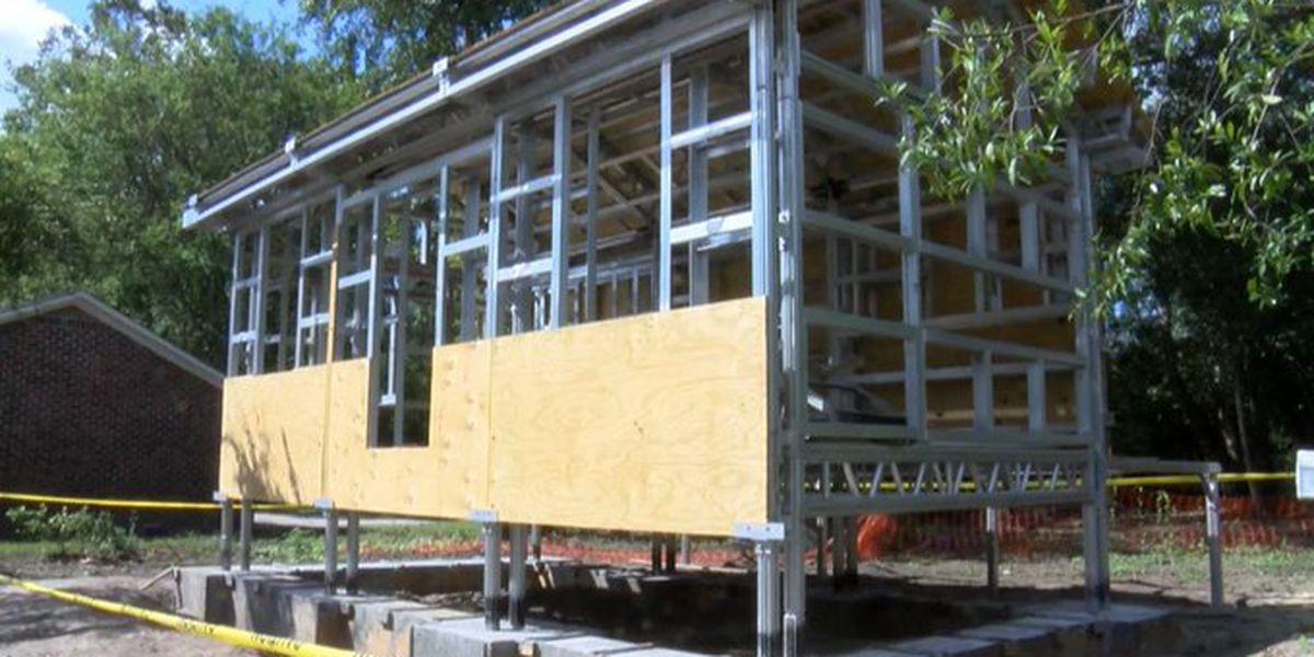 Man builds hurricane-proof house in Summerville