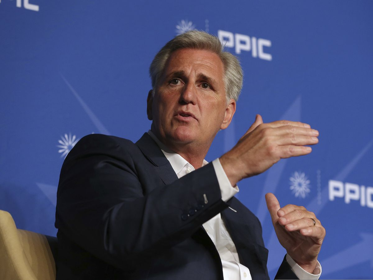 Trump ally Kevin McCarthy hopes to lead shrunken House GOP