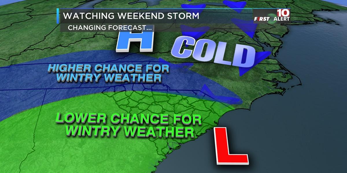 FIRST ALERT: Colder the next few days - Watching the weekend