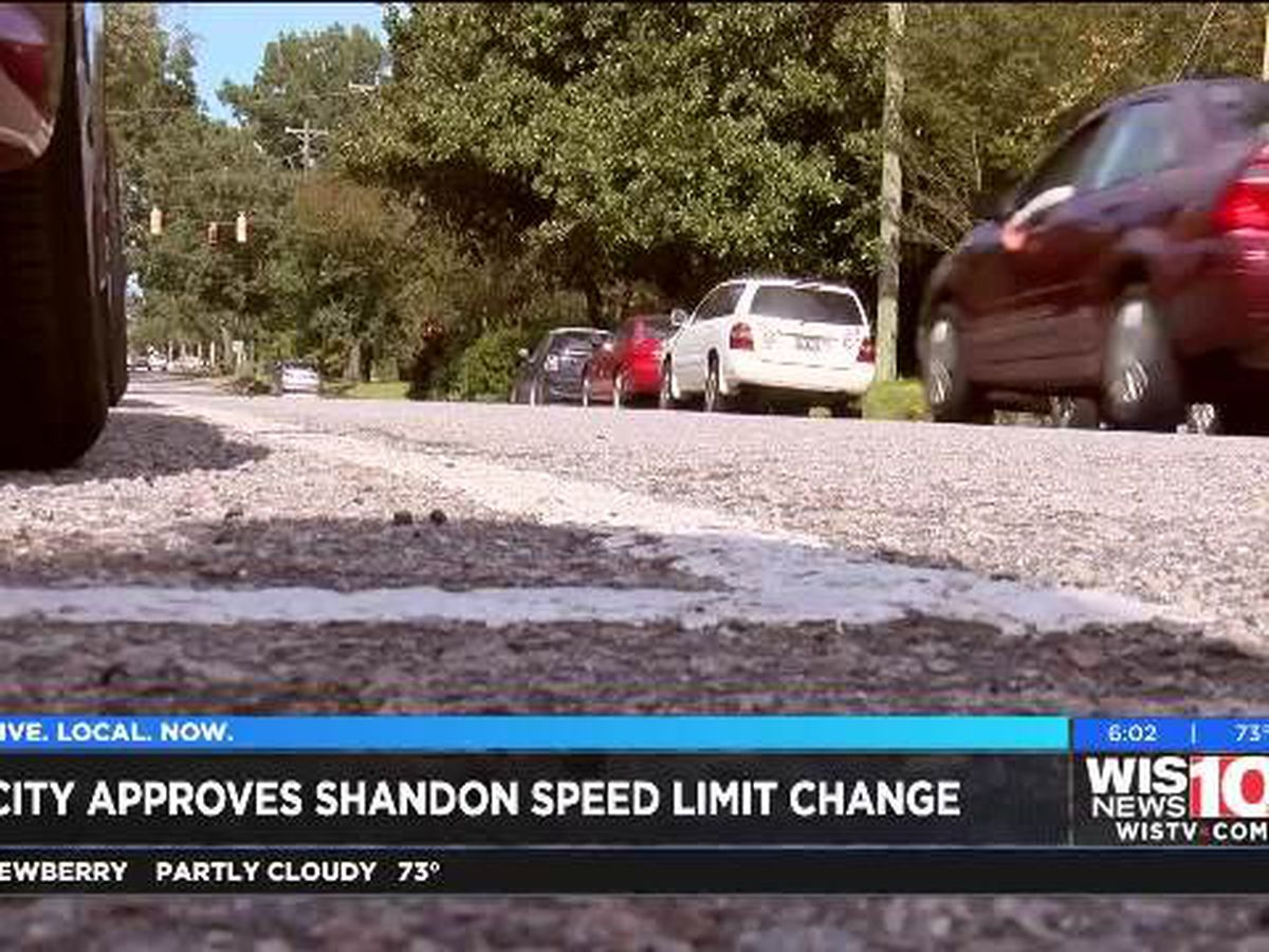 Lower speed limits coming to Shandon area after CPD tickets hundreds of speeders