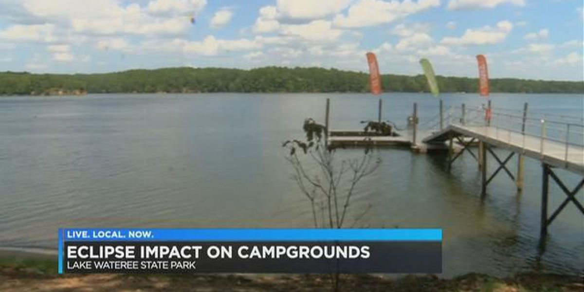 Crowds rush to campgrounds, filling SC state parks for 'Total Solar Eclipse'