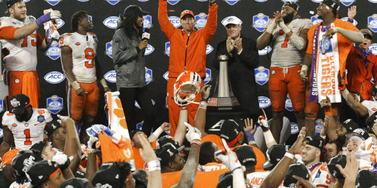 Clemson seizes fourth straight ACC title with lopsided win over Pitt