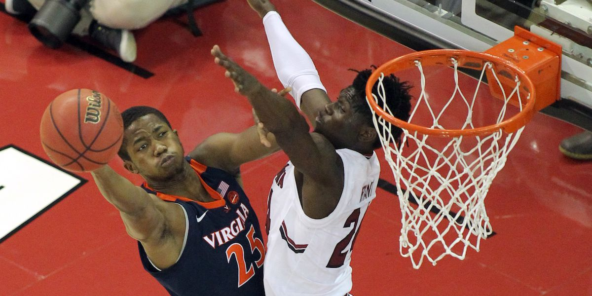 USC drops third straight in 69-52 loss to Virginia