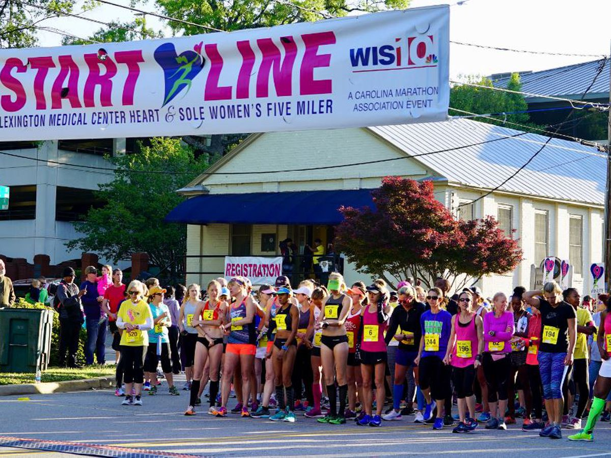 Talk of the Town: Calling all girlfriends for the Heart and Sole Five-Miler