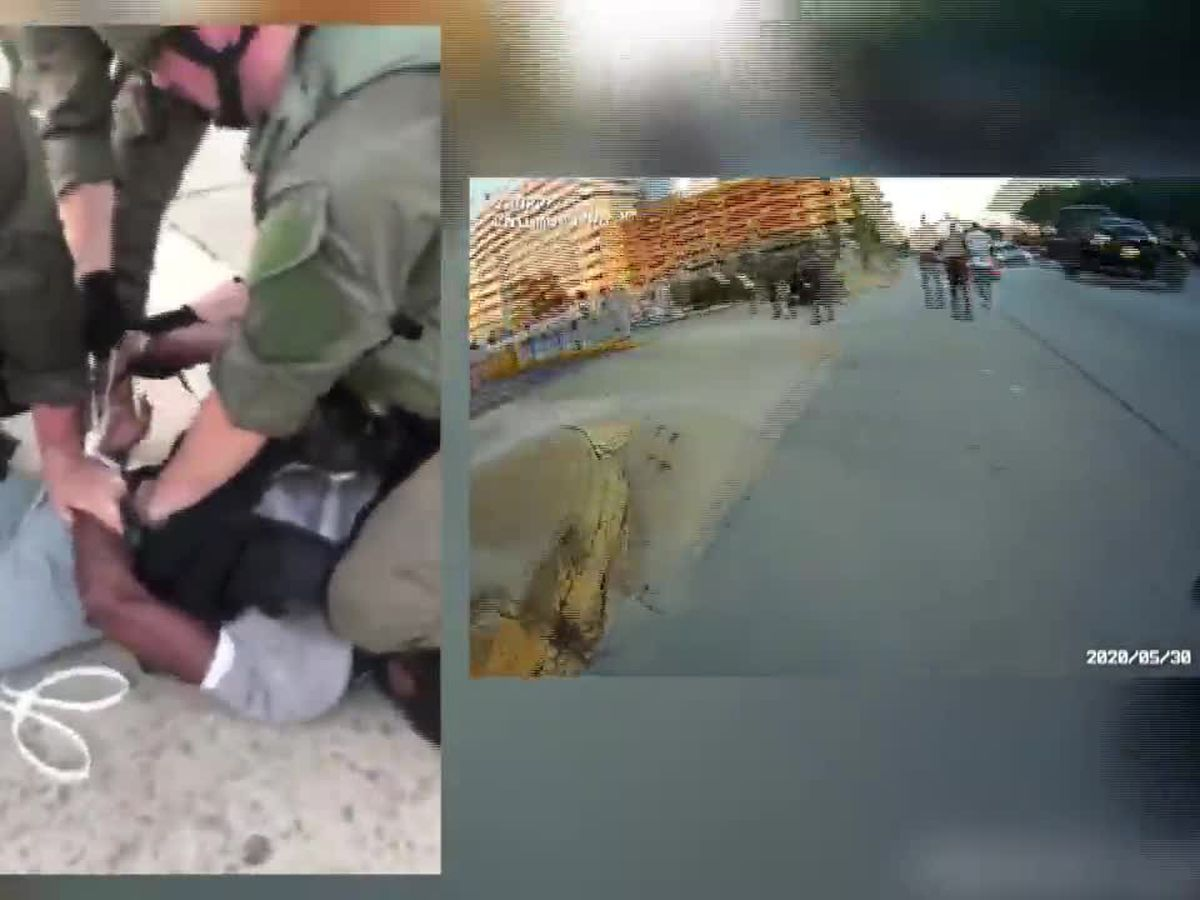 New witness video clearly shows CPD officer with knee on neck area of man during arrest