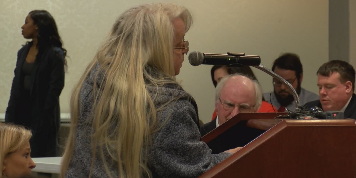 Residents speak out against Blue Granite rate hikes at PSC hearing