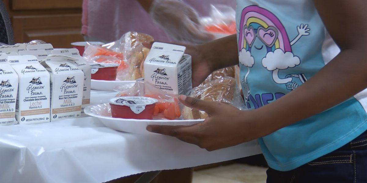 Battling child hunger during the summer in South Carolina