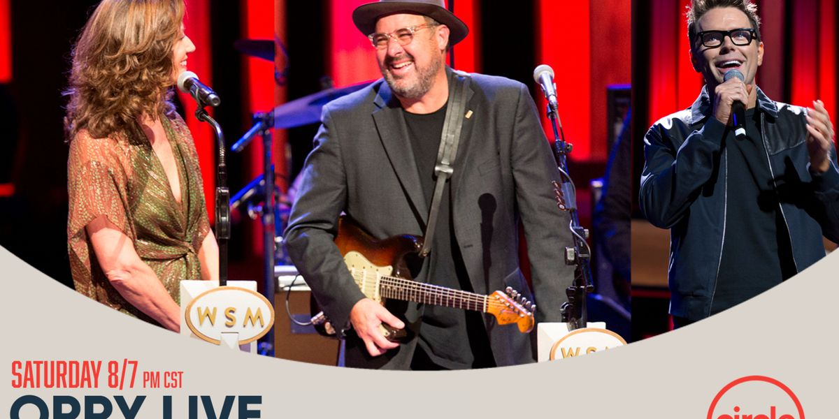 Vince Gill, Amy Grant headlining Saturday's Grand Ole Opry live on The CW