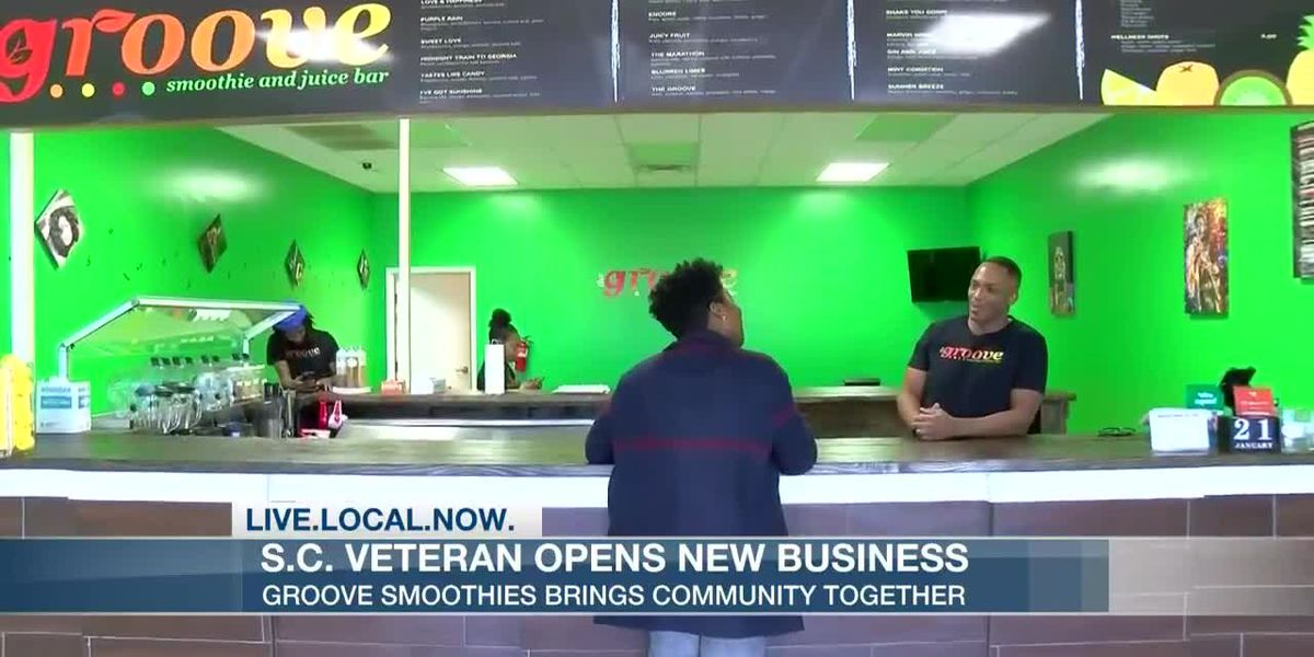 S.C. veteran opens smoothie shop