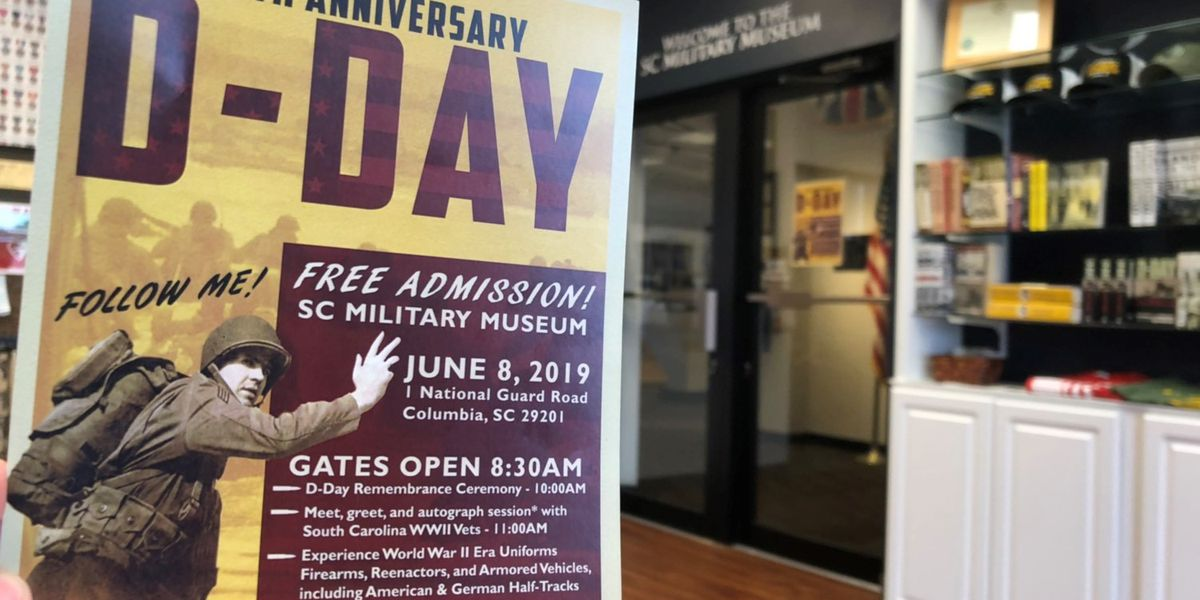 Columbia & Mt. Pleasant to hold D-Day commemoration events
