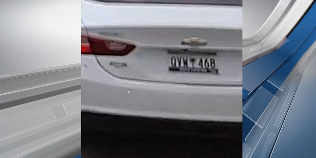 Deputies release photo of license tag on car used during Sumter Co. shooting