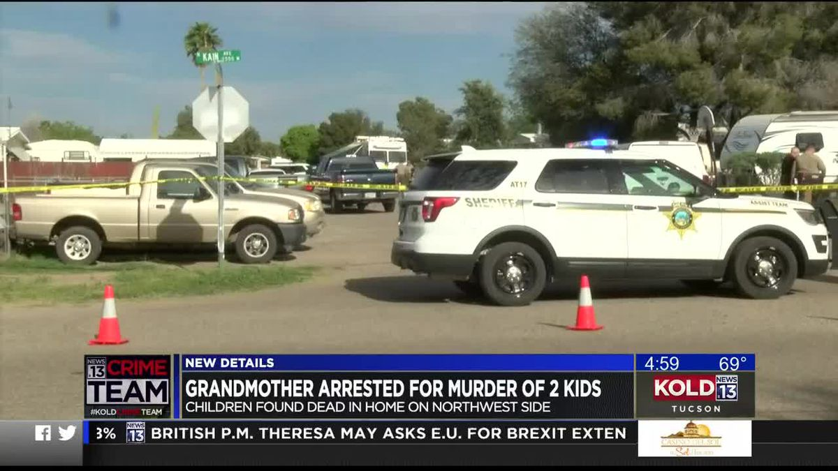 Grandmother Arrested For Murder Of 2 Kids