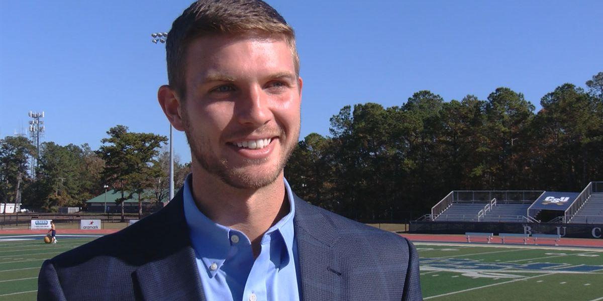 Former Jim Hudson Football Friday scholarship winner shares lessons learned through football