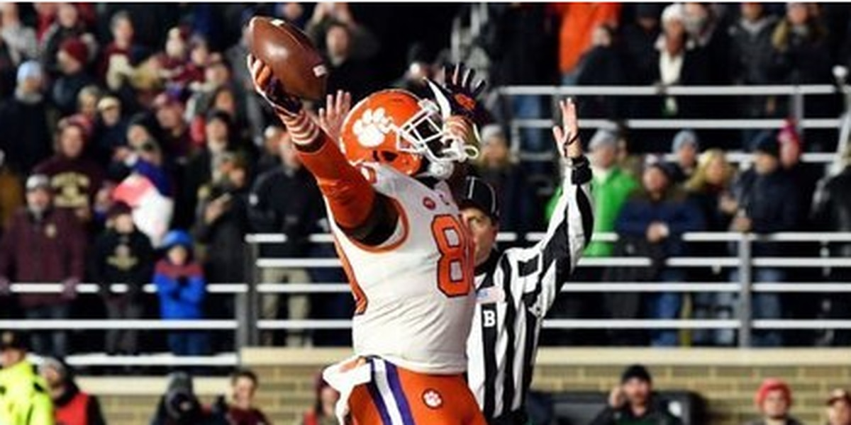 """Boston """"D"""" Party: Clemson defense smothers BC to clinch ACC Atlantic"""