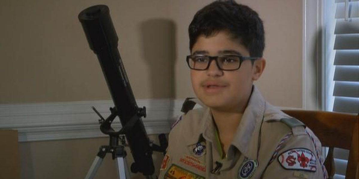 Eagle Scout hopeful raises money and supplies for foster kids