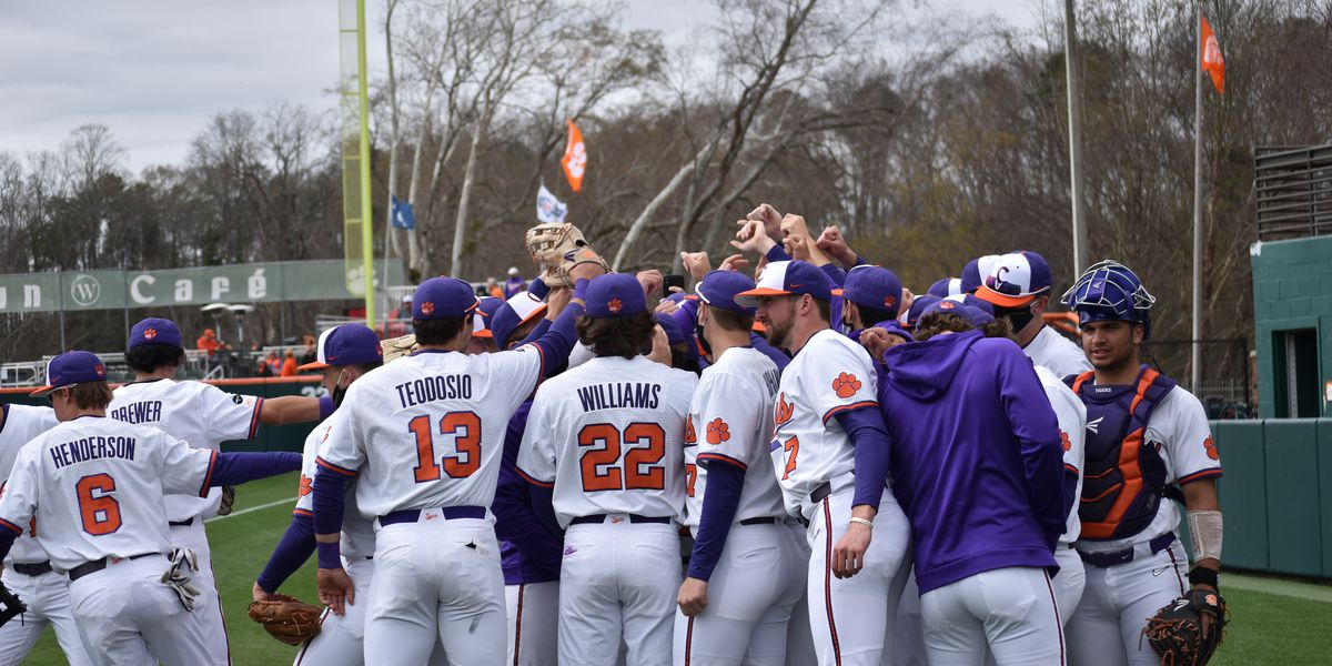 Parker's homer lifts Tigers over No. 13 Hokies on Sunday