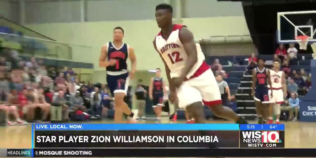 The Zion Show: SC welcomes home Zion Williamson