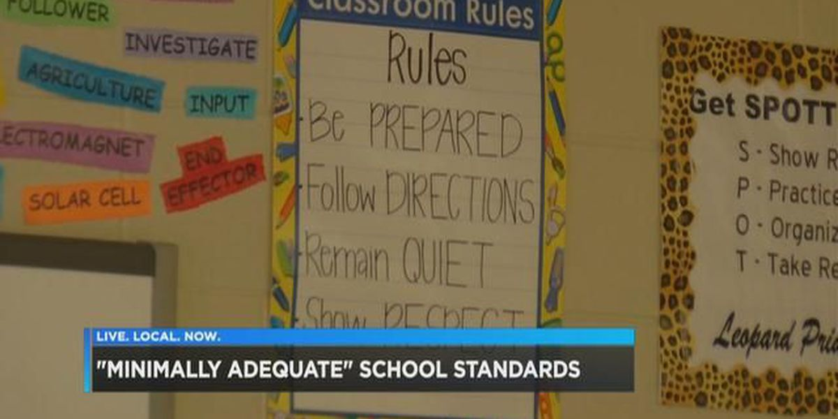 Parents say 'minimally adequate' standards SC schools not good enough