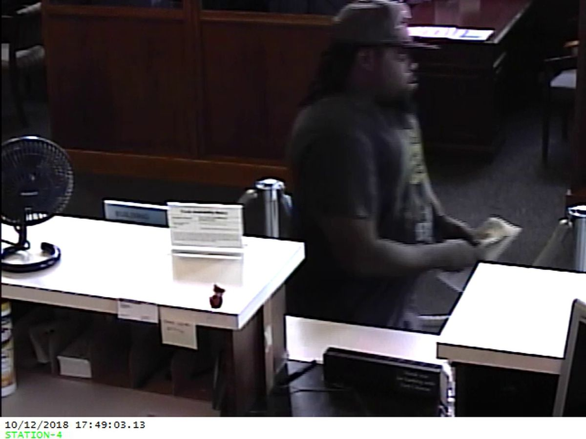 Winnsboro Police searching for bank robbery suspect