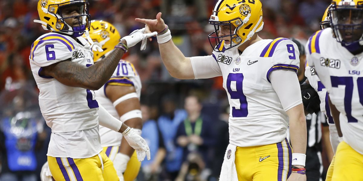 Burrow powers LSU to 42-25 win over Clemson for first College Football Playoff national title