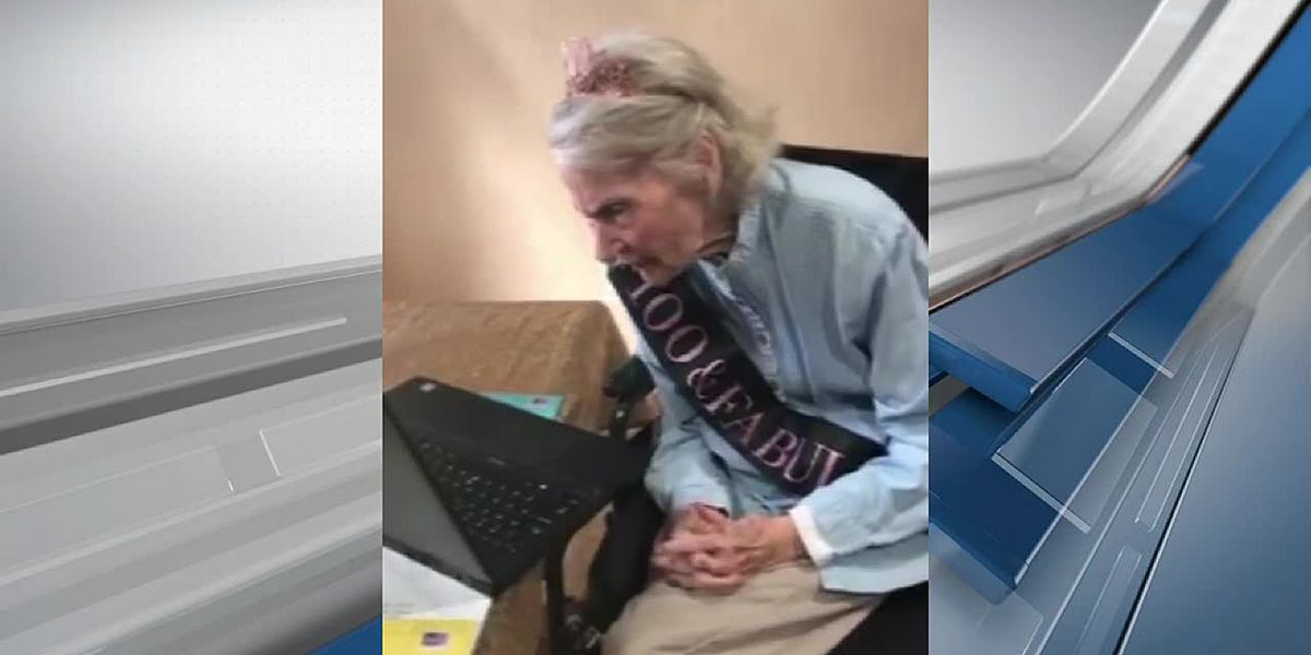 Friends, church family helps woman celebrate 100th birthday in style