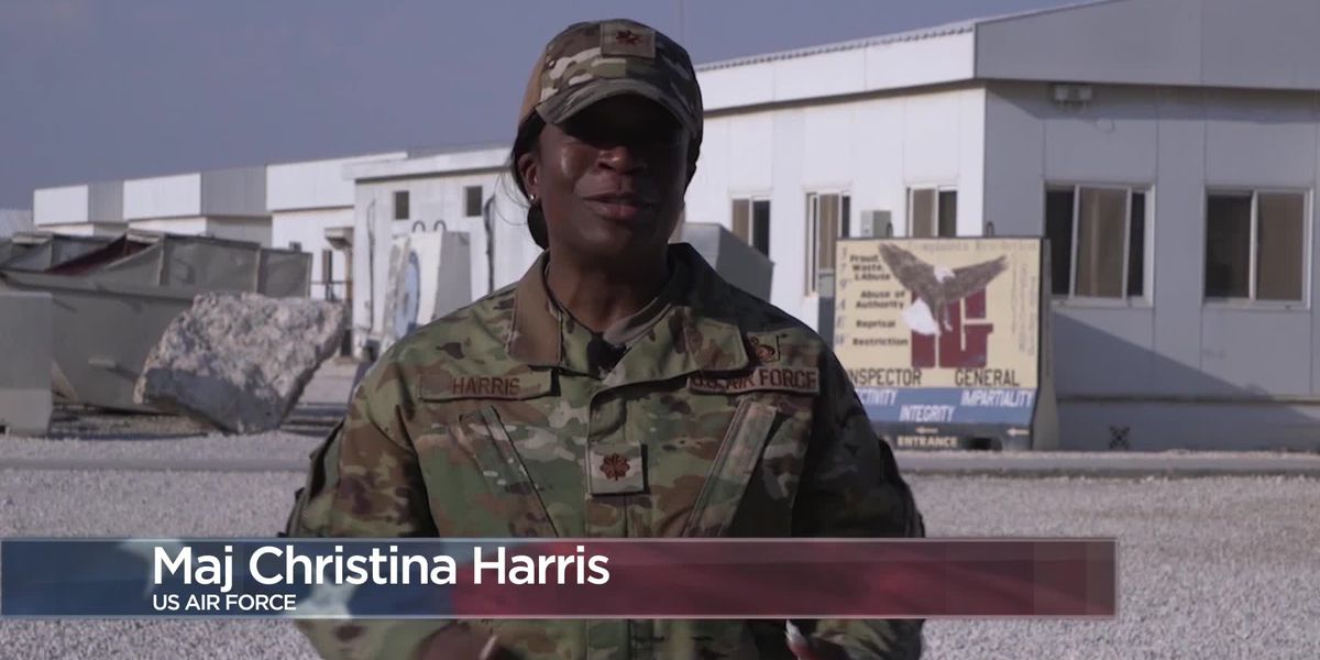 Military Greetings - Maj. Christina Harris