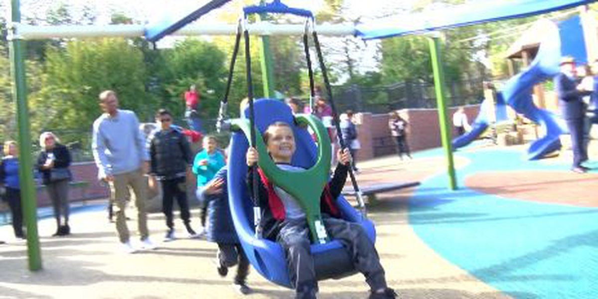 West Columbia unveils new all-inclusive playground