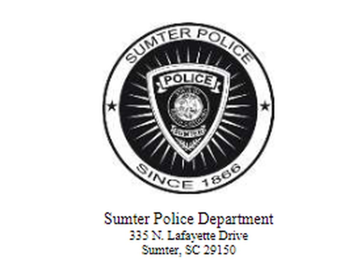 Peaceful protest underway in front of Sumter Police Department