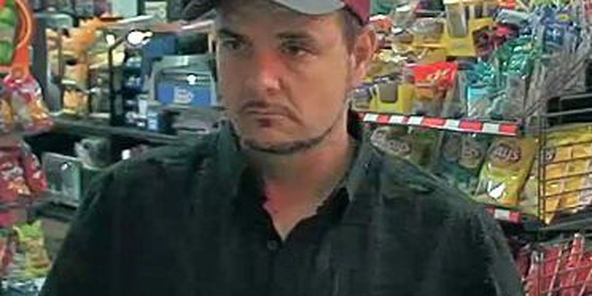 Deputies want to talk to this man about a recent vehicle theft