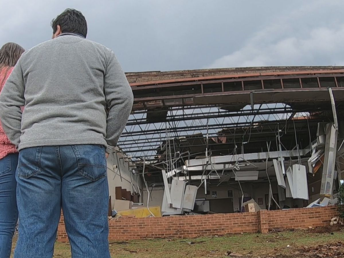 Students saddened by loss, unanswered questions after tornado rips through North Central High School